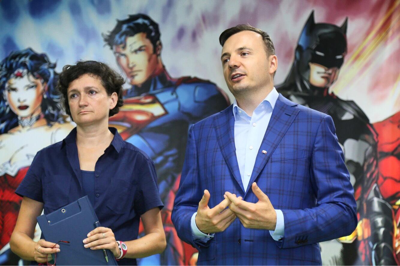 Agnieszka Watuch i Łukasz Gibała